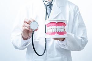 口腔内の部分入れ歯